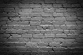 Gray Brick Wall With Cracked Putty Beautiful Background For Design poster