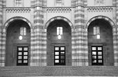 University Building Entrance