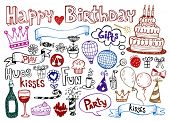 picture of lolli  - Set of Birthday doodles - JPG