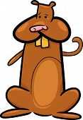 Cartoon Doodle Of Cute Hamster