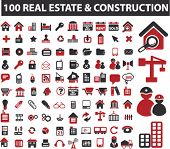 stock photo of real-estate-team  - 100 real estate  - JPG