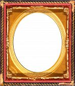 Oval Vintage Pocket Frame