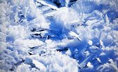Blue Cold Ice Sheet Background Texture