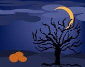 Halloween Night Tree