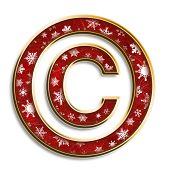 Christmas Copyright Symbol
