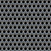 picture of metal grate  - A 3d illustration of a steel grate material - JPG