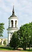picture of tsarskoe  - Belfry of the Sophia Cathedral in Tsarskoe Selo built by the architect Cameron in the late eighteenth century - JPG