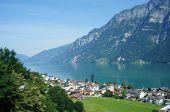 The Walensee in Switzerland