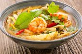 foto of thai cuisine  - tom yum soup - JPG