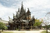 Thailand, Pattaya, Sanctuary of Truth Temple