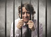 Desperate businessman behind bars
