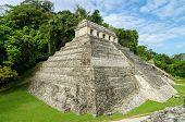 Palenque Temple Of Inscriptions