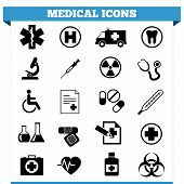 Medische iconen Vector Set
