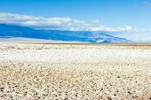 Badwater (the lowest point in North America), Death Valley National Park, California, USA