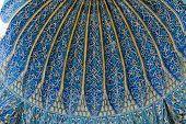 Interior of Green Mausoleum in Bursa
