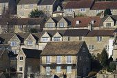 Houses At Bradford On Avon. UK