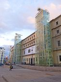 The Reina Sofia Museum. Madrid
