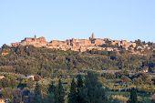 Panorama Of Montepulciano, Tuscasny