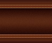texture of brown leather.vector