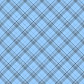 Blue Plaid Fabric Background