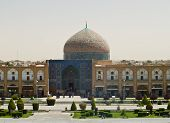 Sheikh Lotf Allah Mosque At Naqsh-e Jahan Square In Isfahan, Iran