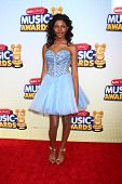 LOS ANGELES - APR 27:  Diamond White arrives at the Radio Disney Music Awards 2013 at the Nokia Thea