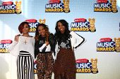 LOS ANGELES - APR 27:  China Anne McClain (middle) arrives at the Radio Disney Music Awards 2013 at