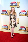 LOS ANGELES - APR 27:  Darcy Rose Byrnes arrives at the Radio Disney Music Awards 2013 at the Nokia