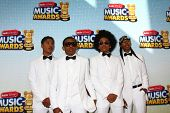 LOS ANGELES - APR 27:  Mindless Behavior arrives at the Radio Disney Music Awards 2013 at the Nokia