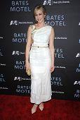 LOS ANGELES - MAR 12:  Vera Farmiga arrives to the A&E Network Premiere of