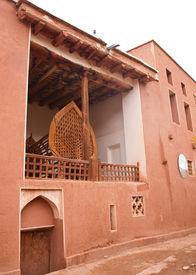 stock photo of zoroastrianism  - Ancient building in zoroastrian village in Abyaneh Iran - JPG