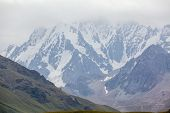 Chok-tal mountain in Kyrgyzstan