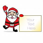 Santa Claus Merry Chrimas Clip Art