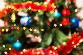 Christmas Fir-tree On A Background