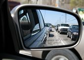 Rearviewmirror Traffic