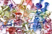 Coloured Push Pins