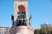 Independence Monument commemorating Kemal Ataturk