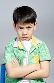 Portrait Of Young Cute Boy