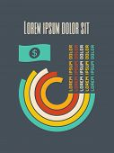 Flat Design Infographic Elements. Vector Graphics EPS 10.