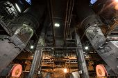 picture of crusher  - interior thermal power plant coal crusher equipment - JPG
