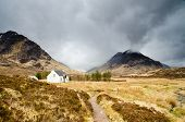 Mountain Hut In Glen Coe