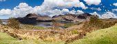 Torridon Mountains And Loch Panorama