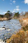 River A Ghairbhe In Glen Torridon