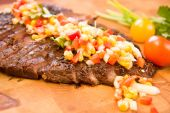 ganze Flanke steak