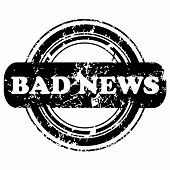 Bad News Stamp