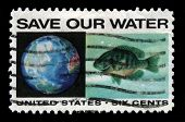 Anti-pollution Us Postage Stamp