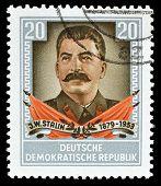 Stalin stamp 1954