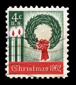 Christmas 1962 Us Postage Stamp