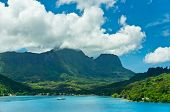 pic of french polynesia  - Paradise view of Moorea Islands Cook
