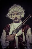stock photo of gunfights  - Gunfight - JPG